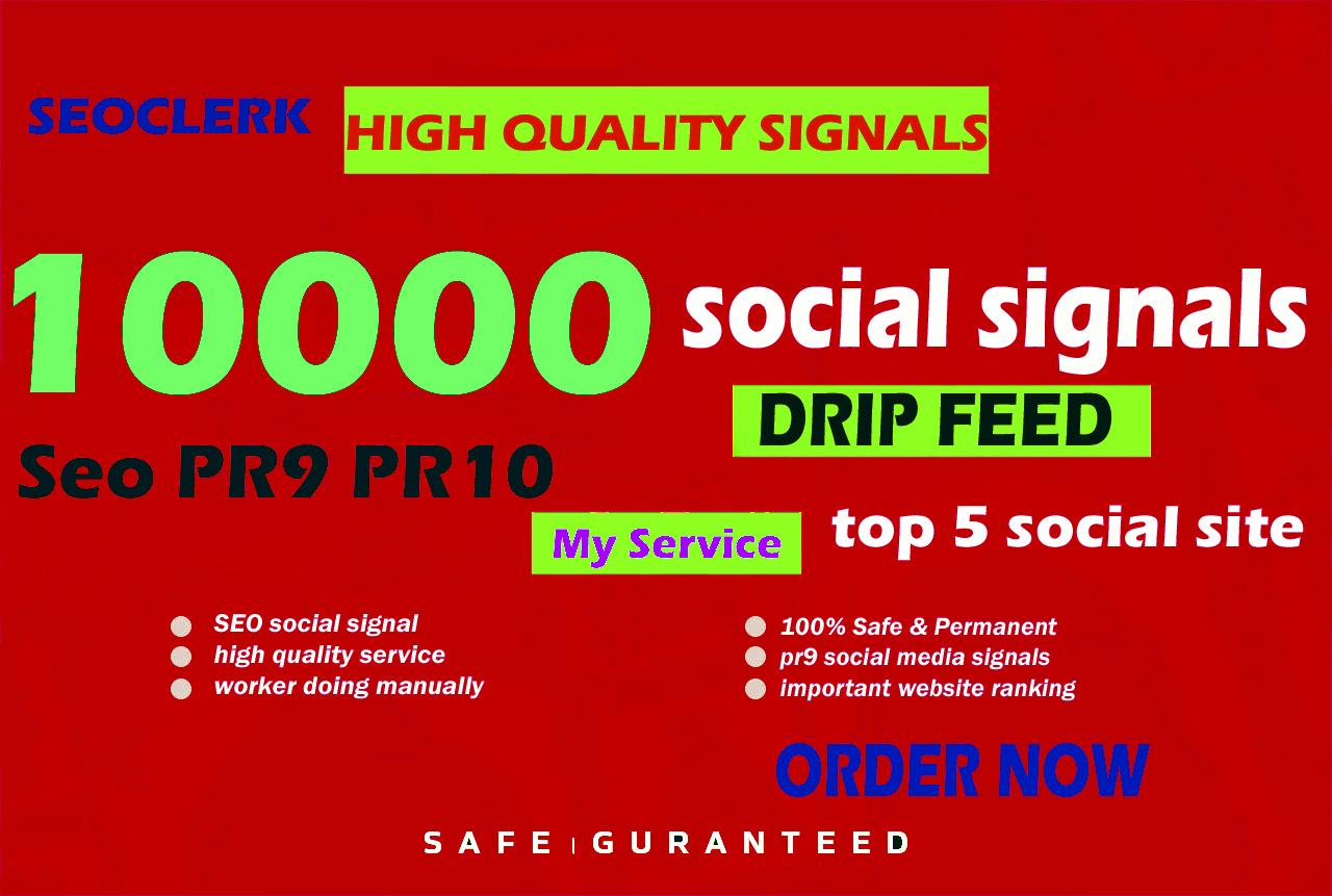 10000 Website Mixed Social Signals administration