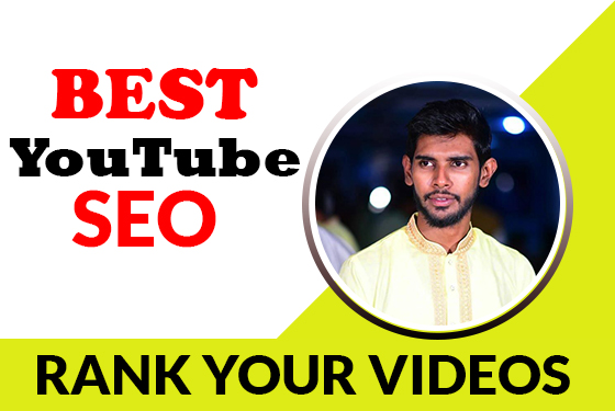 I will do best youtube SEO with video rankinging by natural gathering of people