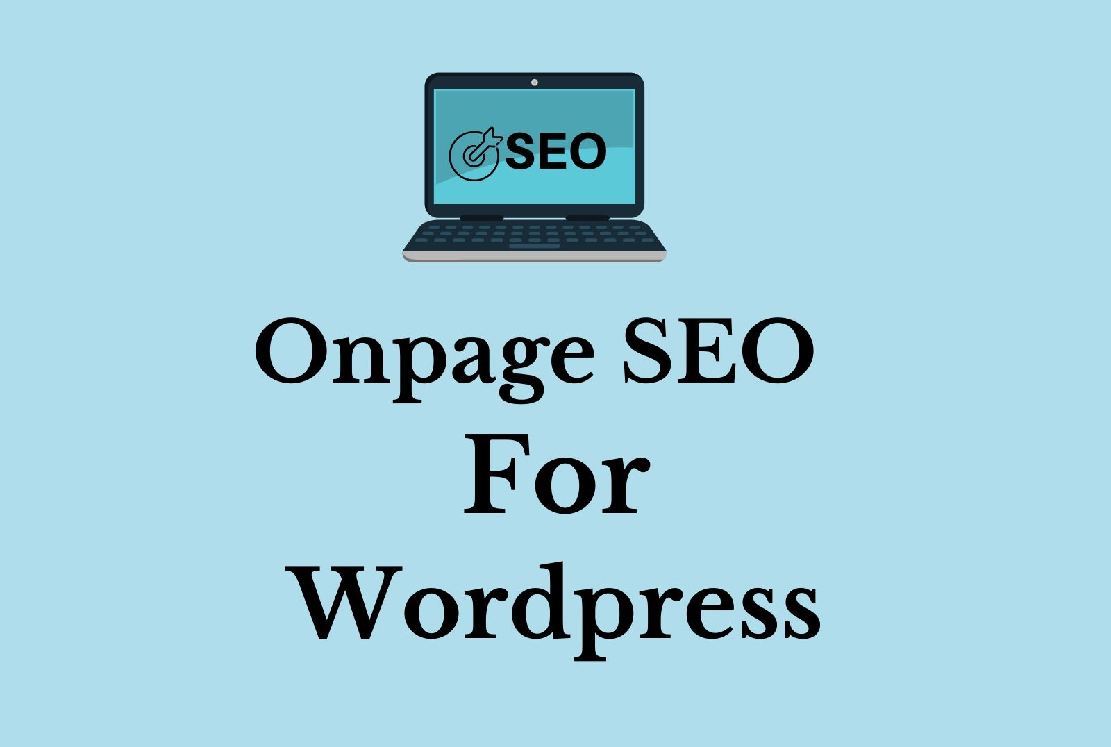 On Page SEO Service for Wordpress