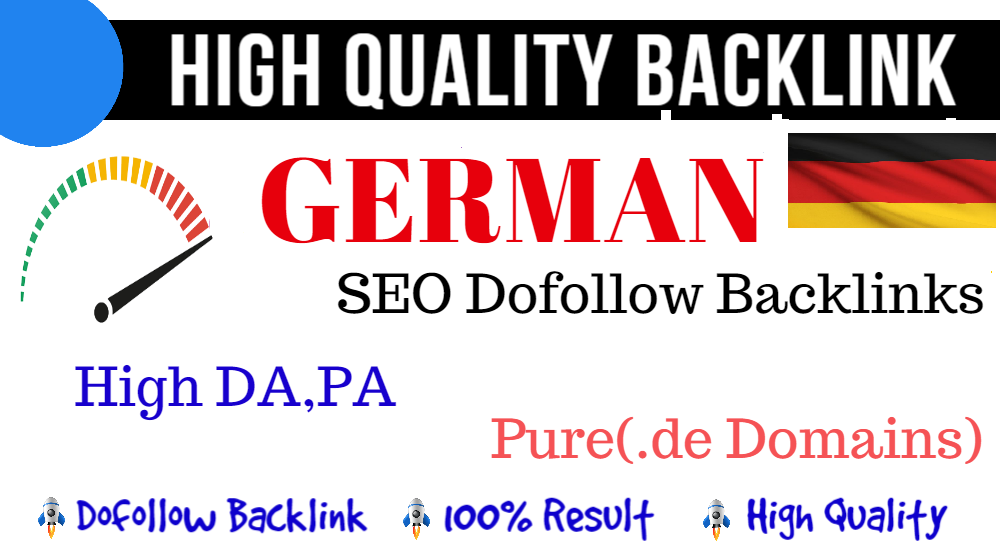 5 High Quality 25 Plus DA PA German Seo PBN Backlinks On Pure. de German Domains
