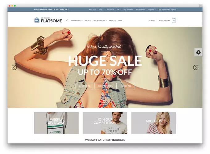 I will design online ecommerce shopping store wordpress website with Premium theme