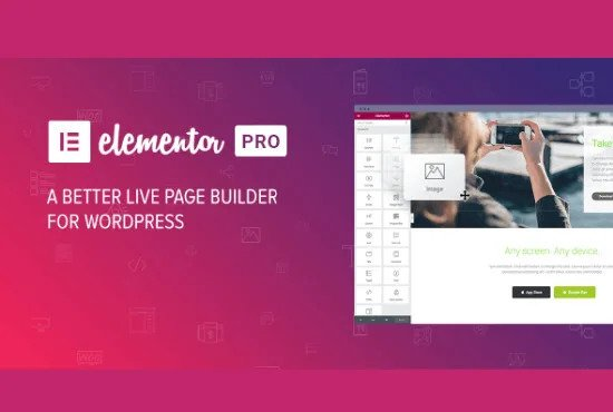 I will create a responsive wordpress website design responsive wordpress website with elementor pro