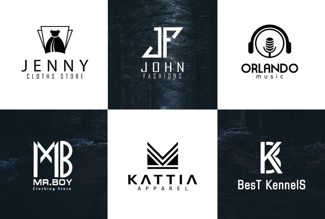 I will do unique minimalist modern business logo design