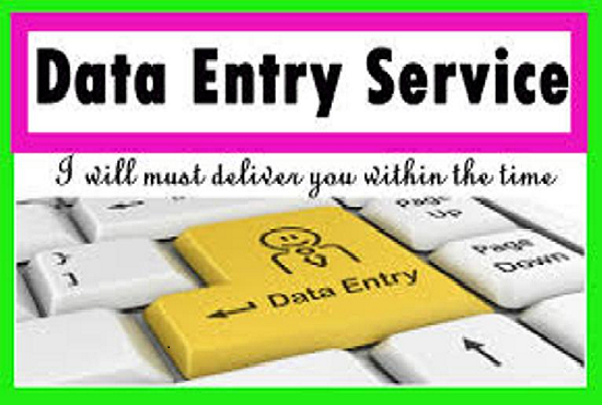 I will do your data entry, copy paste, web research, data mining