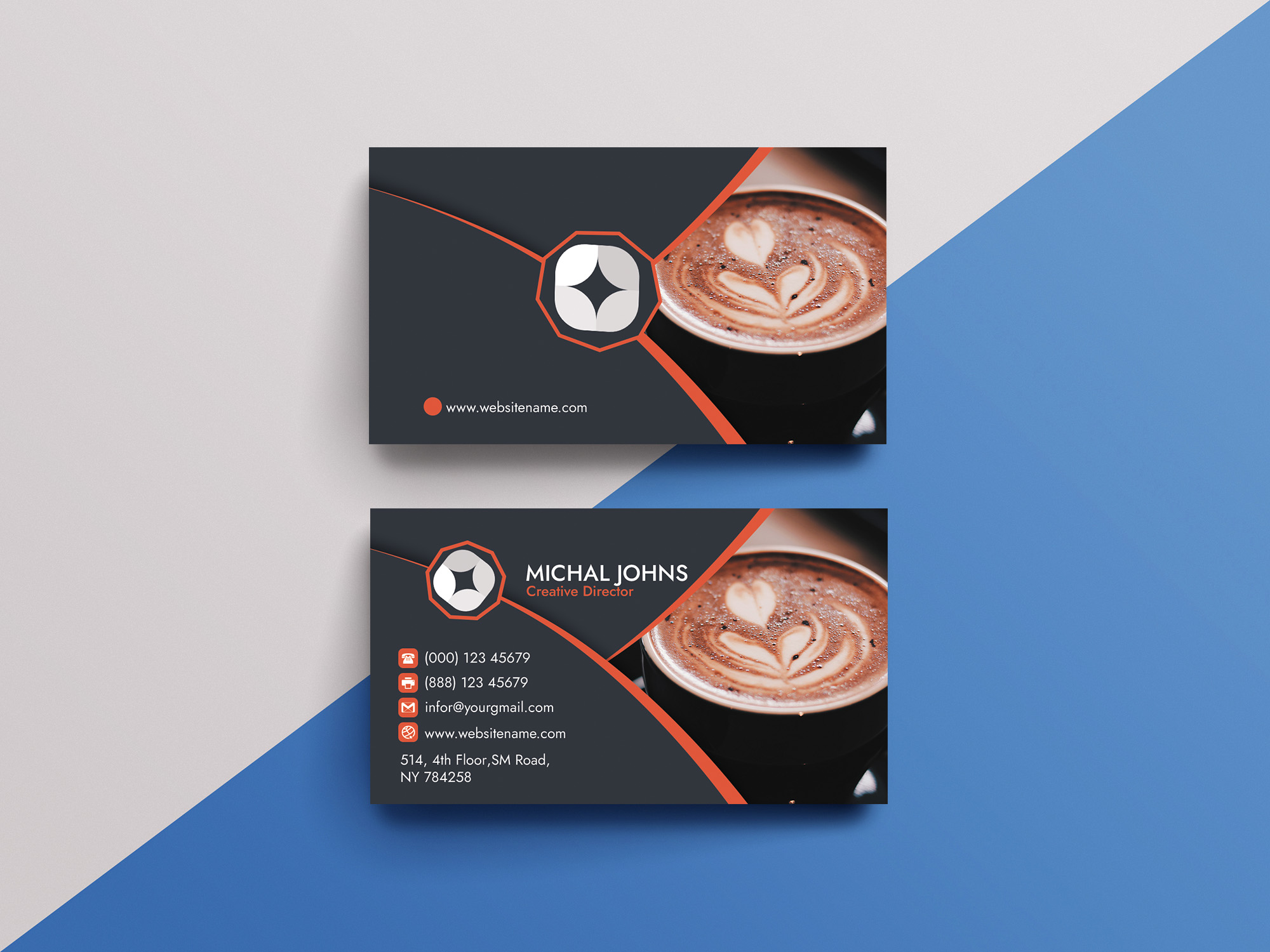 I will do professional luxury and minimalist business card design