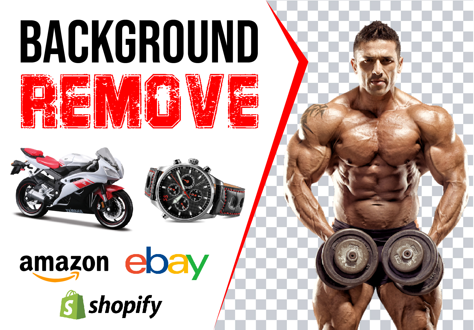Do 20 to 250 photos background removal, crop image and photoshop work