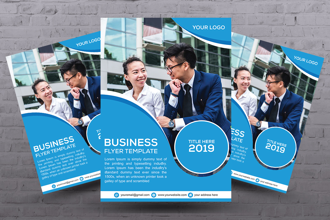 In 3 hours design business flyer,  Business flyer