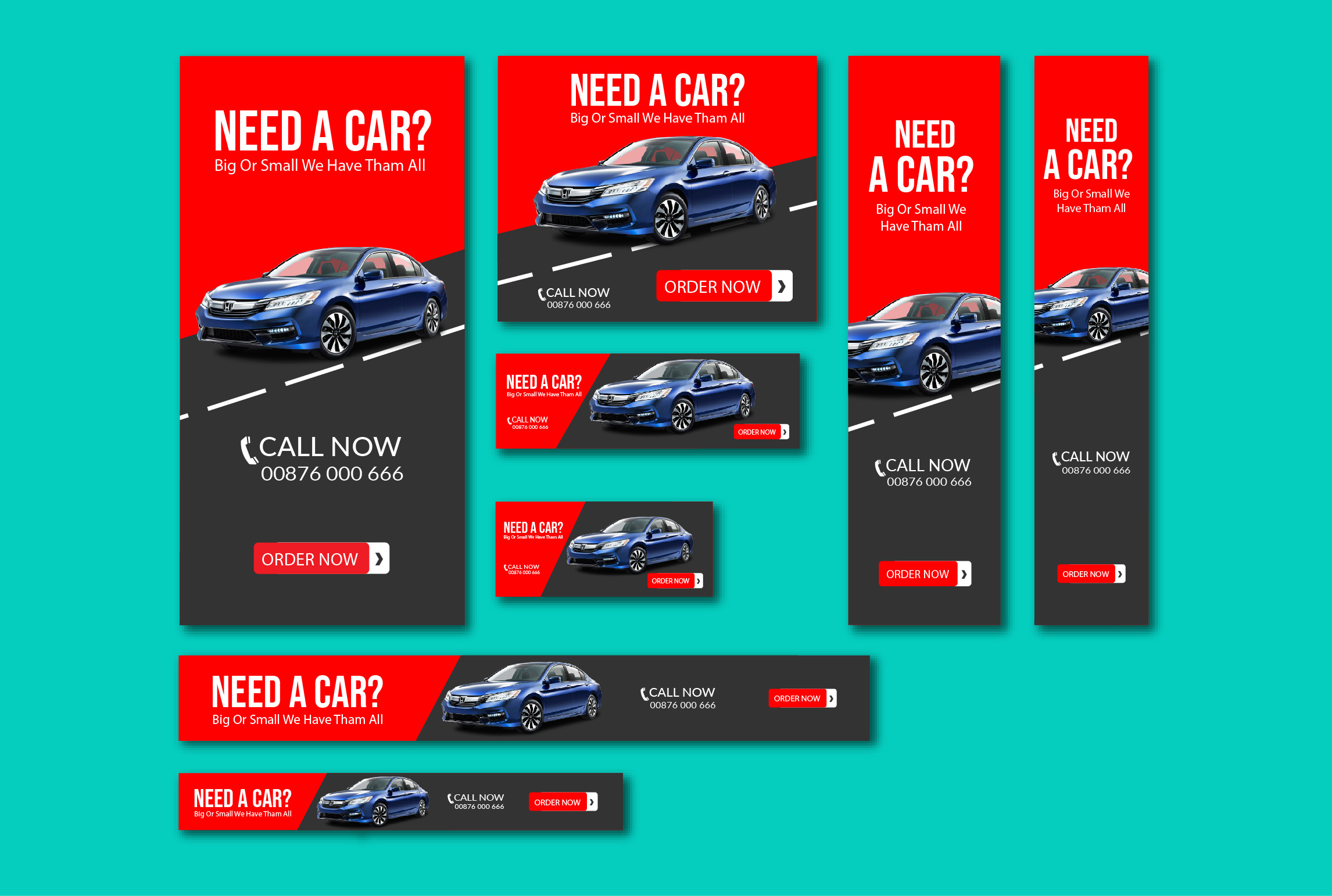 In 3 hours design HTML5 animated banner ads that get more sales