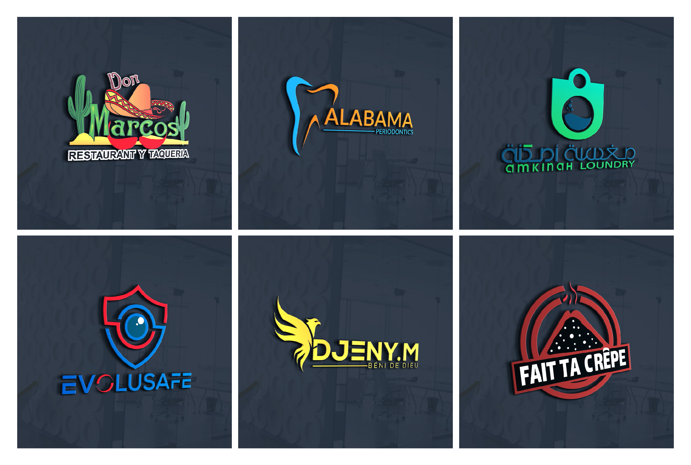 I will design eye-catching business logo for you within 24 hours