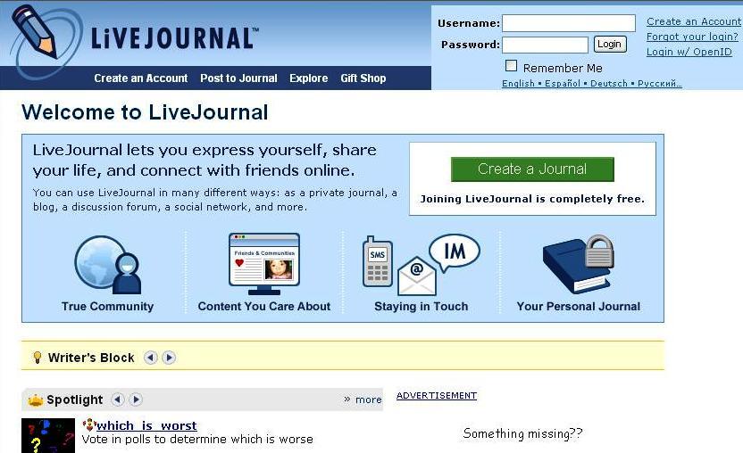 Write and Publish Do-follow Guest on Livejournal.com, Penzu.com, Givology.com (April Festival offer)