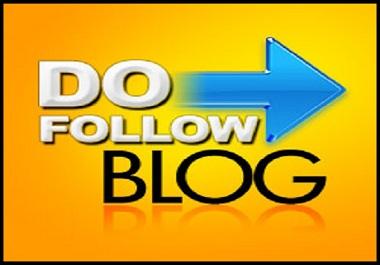 I Will Provide 50 Also Dofollow Blog Comments High DA Backlinks