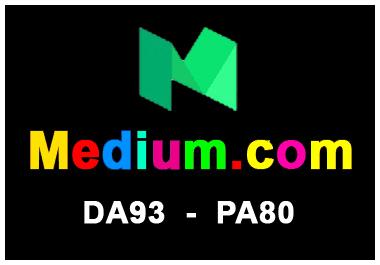 Write and publish Guest Post on Medium-Medium. com