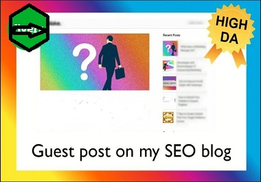 Publish 3 Guest Posts on High DA Backlinks For Your Boost Ranking
