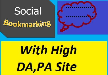Provide 50 Web2.0 Social Bookmarks Backlinks with High Authority