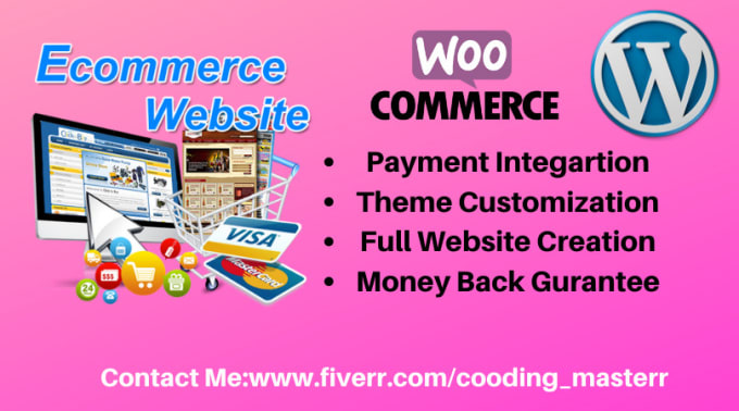 I will design and develop stunning wordpress ecommerce website