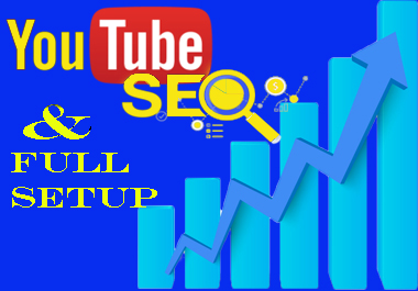 I will do full YouTube SEO optimization and will be manager