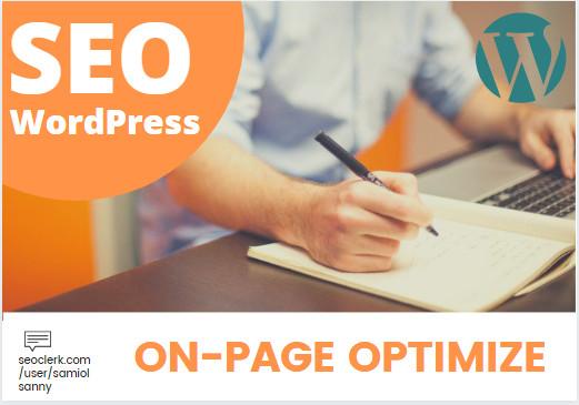 wordpress SEO Onpage Optimization