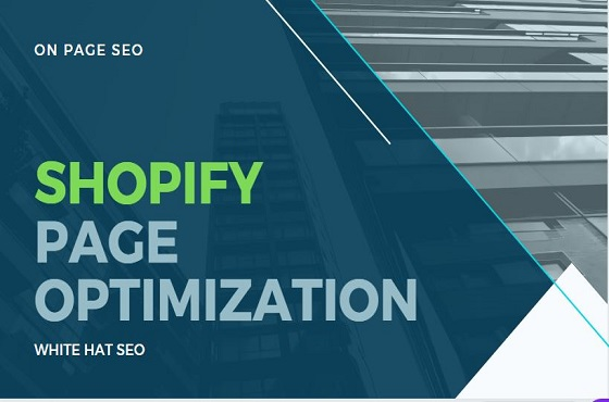 I will do high quality on page SEO for your shopify website