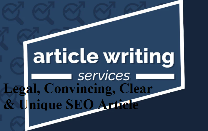 I will write Unique & Convincing Clear SEO article upto 500 words