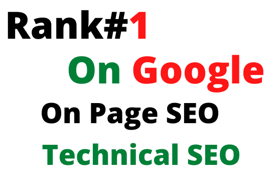 I will do on page and technical SEO optimization