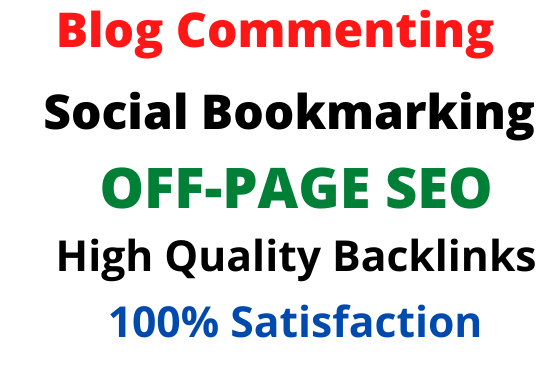 I will provide ultimate off page seo service,  link building
