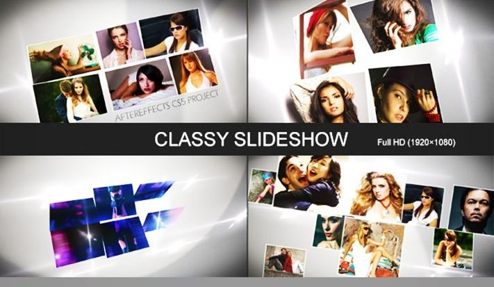 I will create professional video or photo slideshow 6 hours full HD