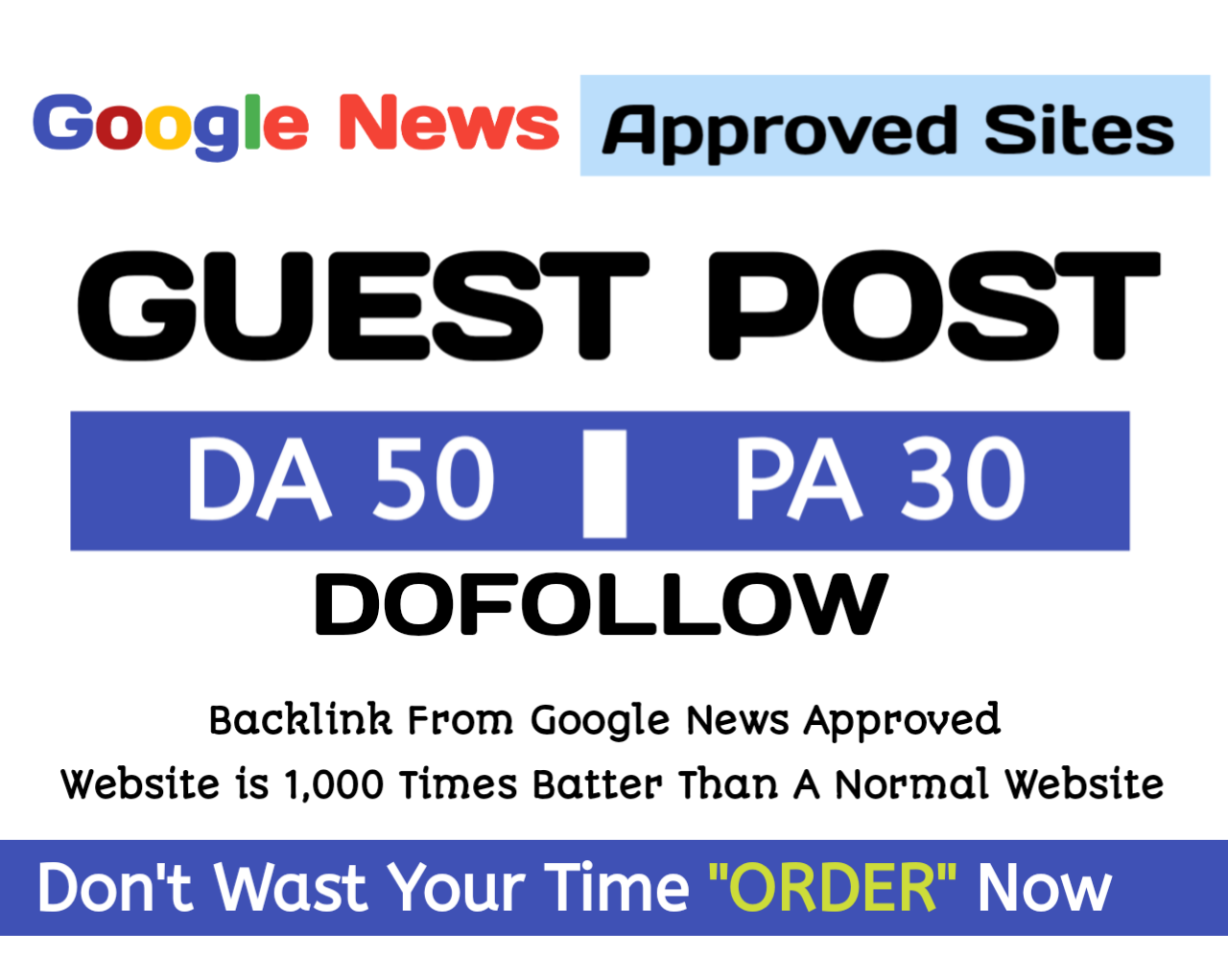 Do guest Post on google news approved website DA50+ high traffic Dofollow backlink