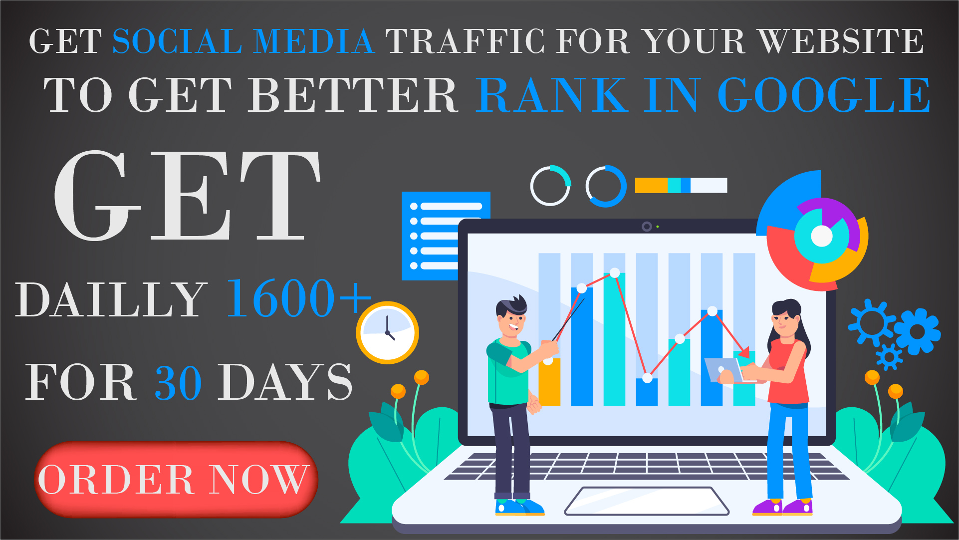 Top Rankings In Google: Get Organic And Social Media Traffic For Your Website