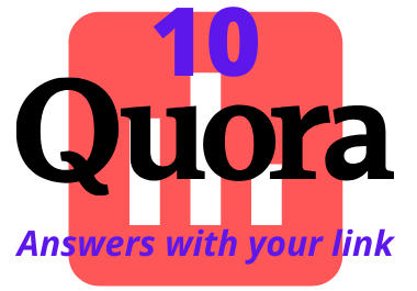 Promote your website with 10 quantity Quora Answers