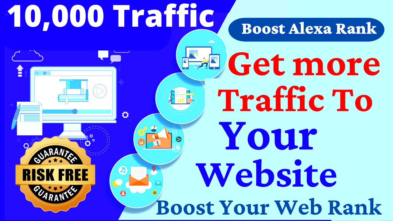 10,000 Real Human Website Traffic From Google, Facebook. Twitter. Youtube Web Visitors to your Site