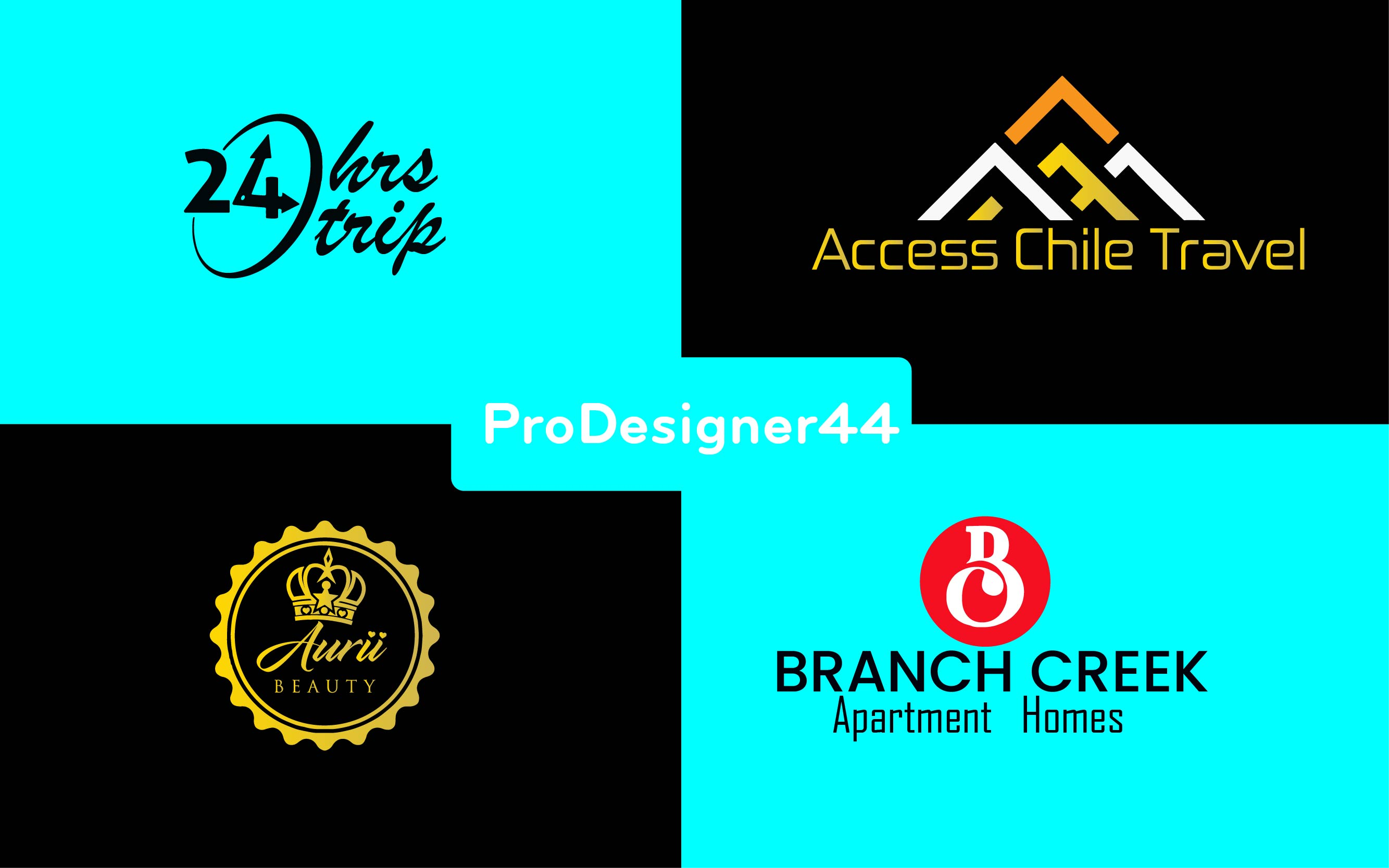 I will do 3 brand logo design for your website