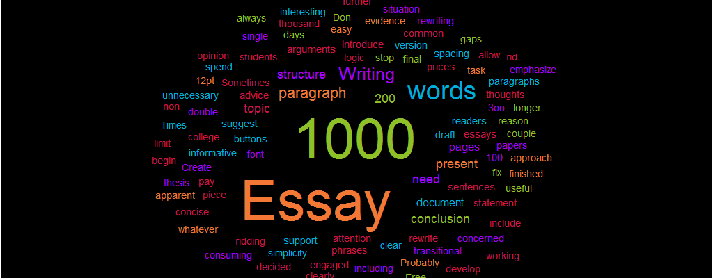 Writing a original content of 900 - 1000 words