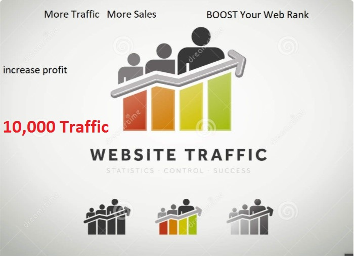 Real 10,000 Human Website From Google, Facebook. Twitter Traffic to your websites