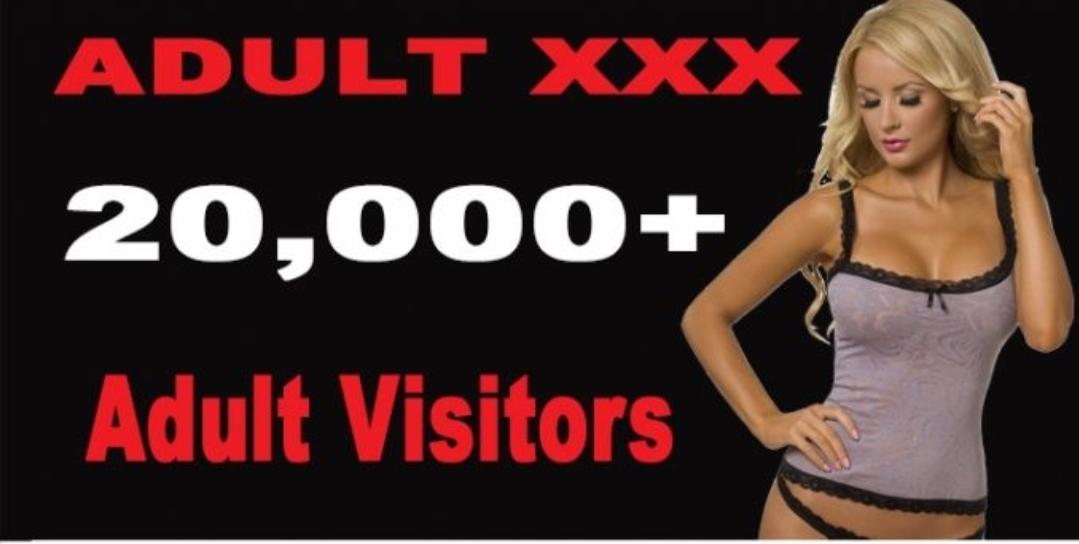 20,000 + Adult Website Traffic for Nine Days -