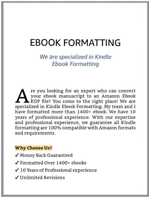 do book formatting amazon ebook formatting format kindle ebook formatting