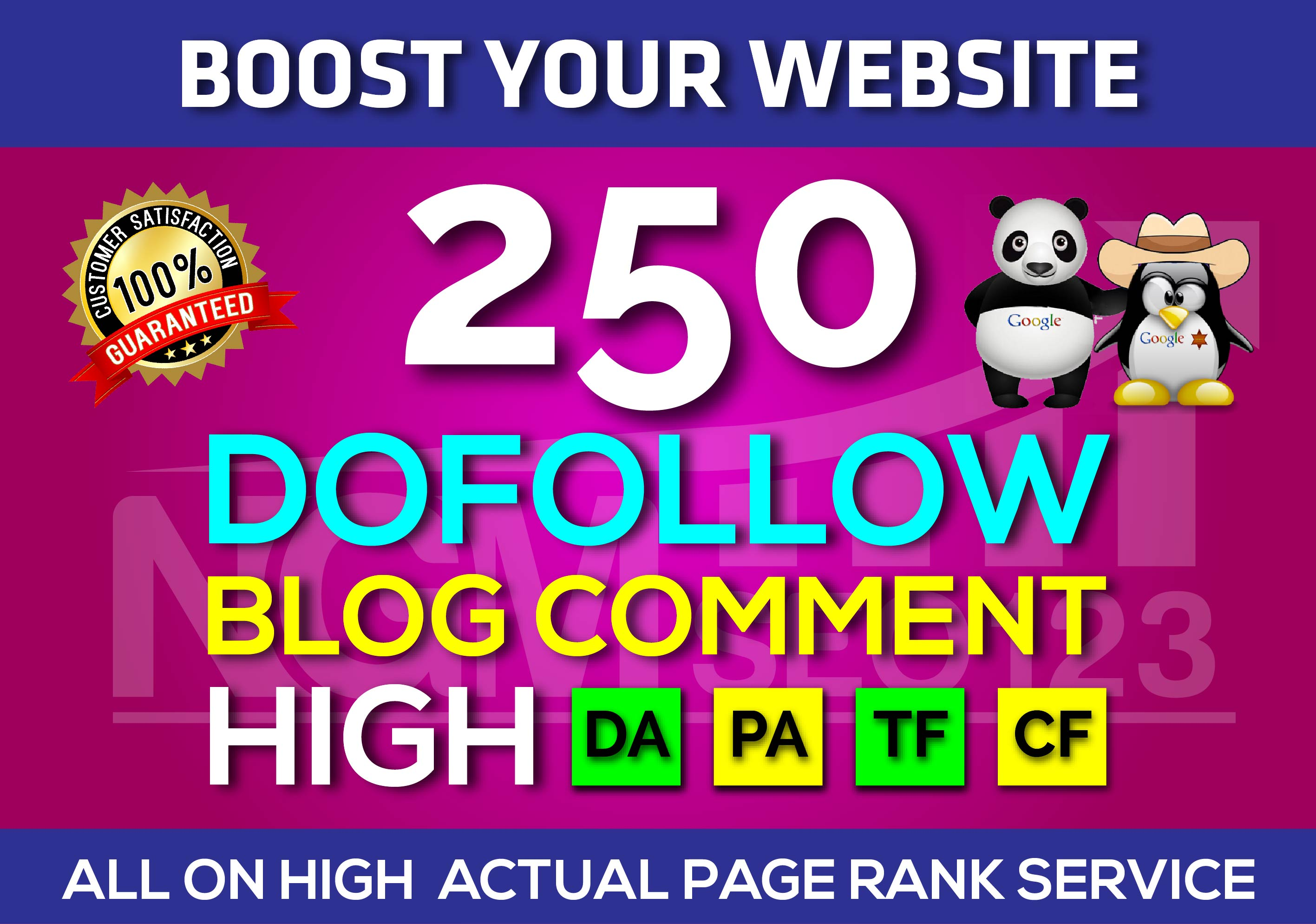 I will do 250 Dofollow Blog Comment Backlinks SEO LOW OBL