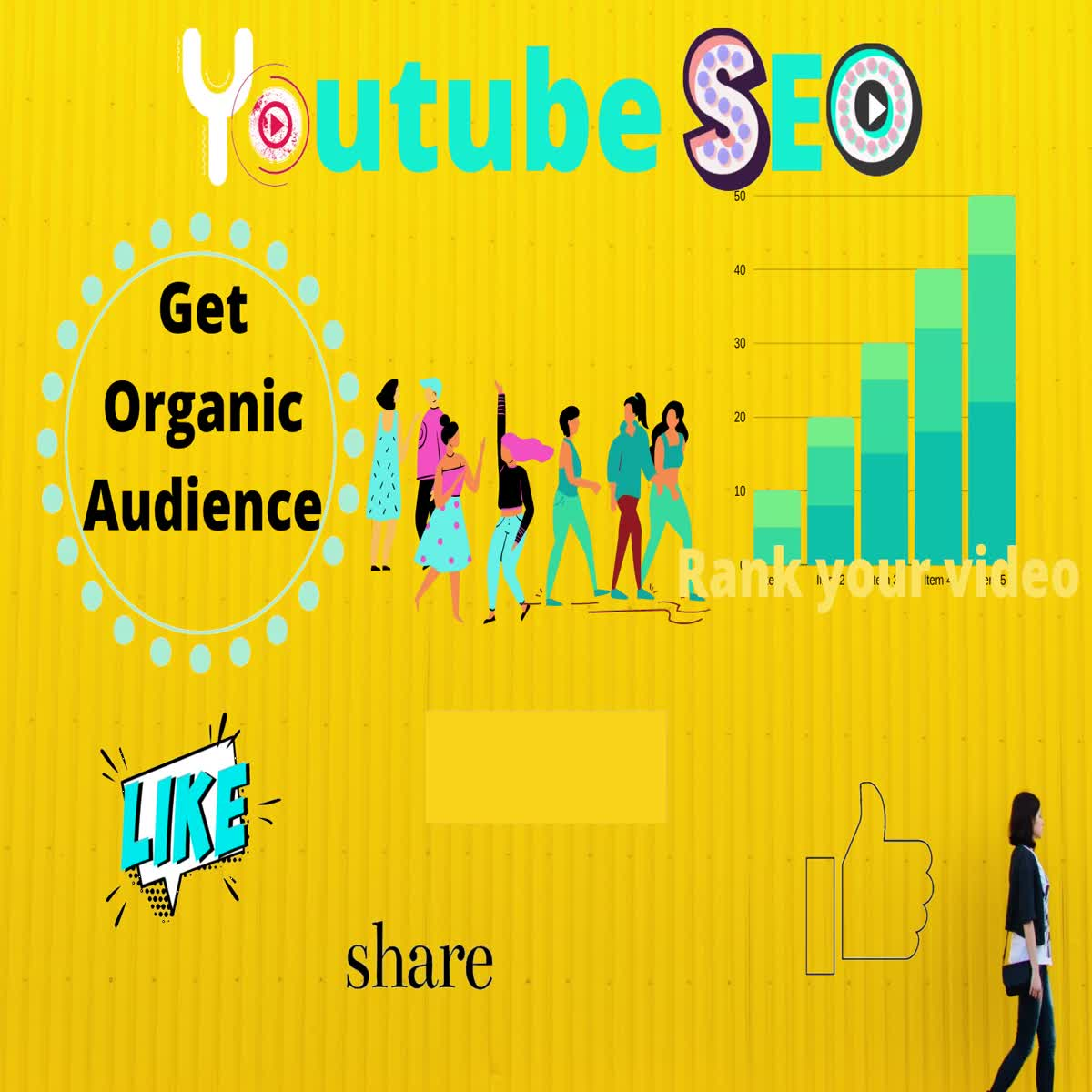 I will SEO your youtube video on page