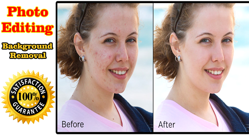 I will do touch up and background removal of photos