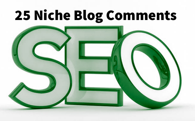 Will Do 25 Niche Relavent Backlinks Blog Comments