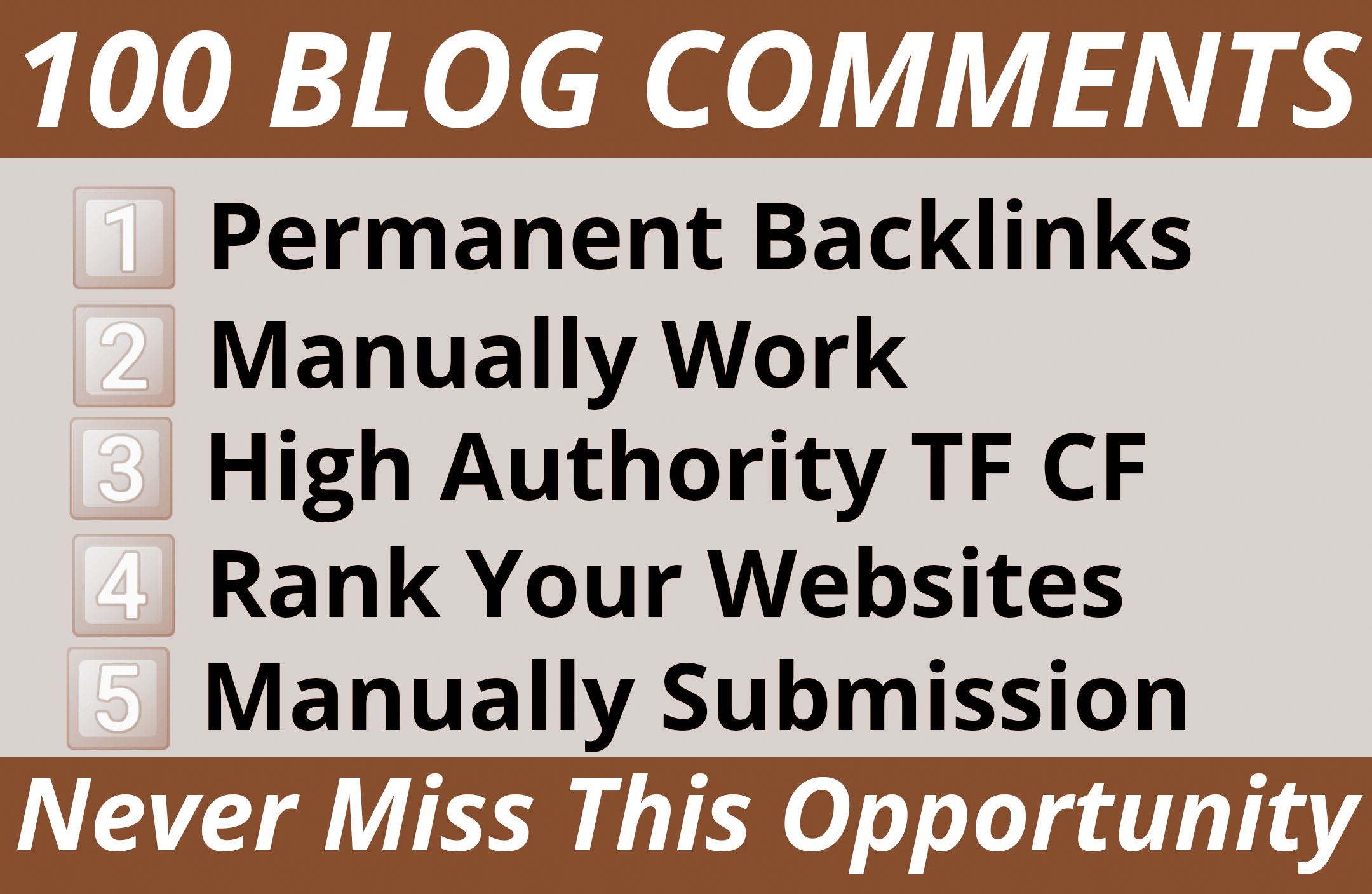 Manually Submit 100 Blog Comments on High DA PA Blog Sites