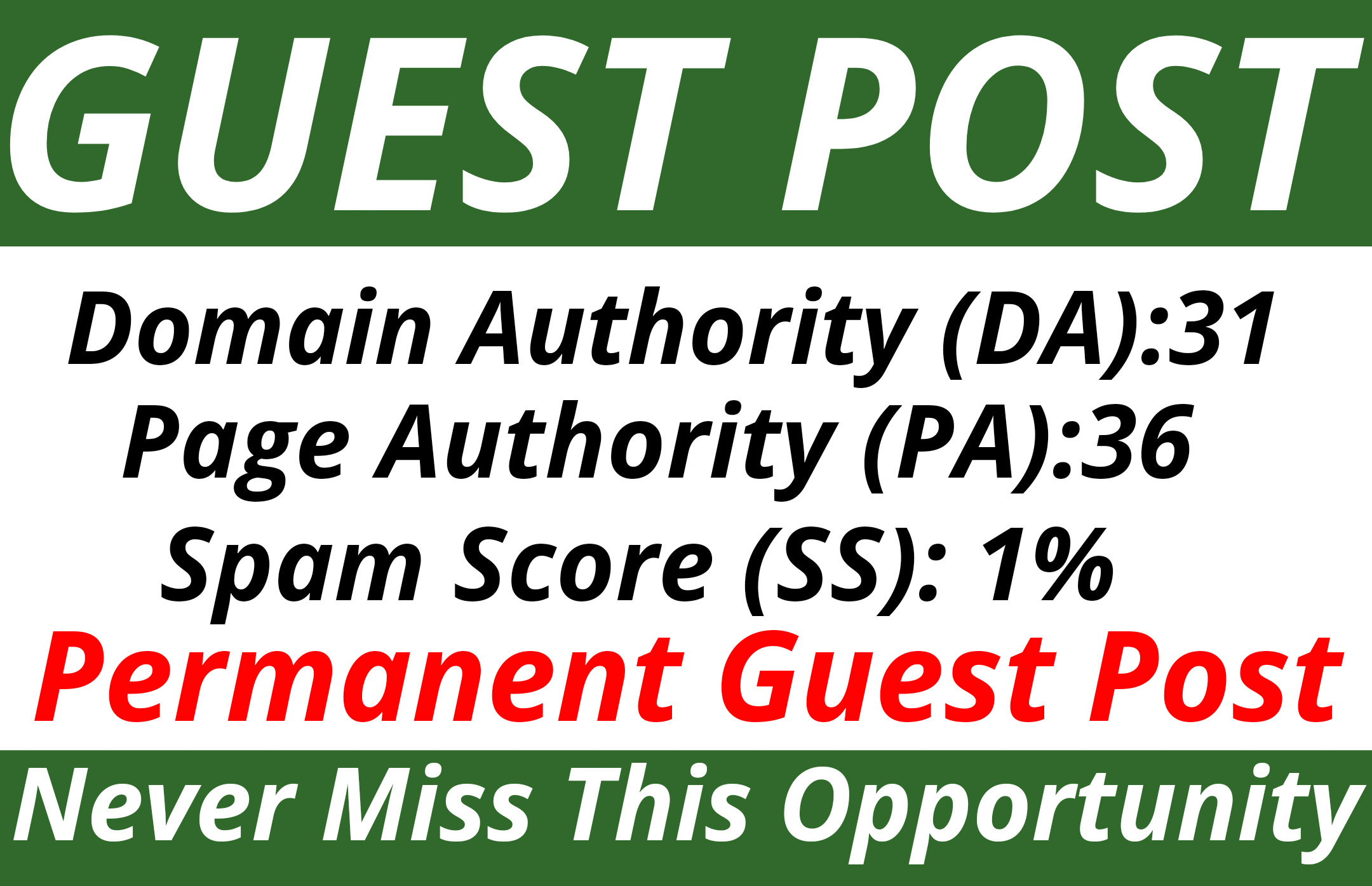 Publish a Guest Post on DA31 PA36 with Permanent Link