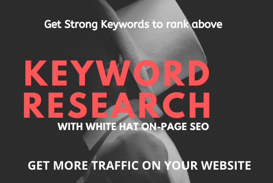 I will rank your website with strong keywords