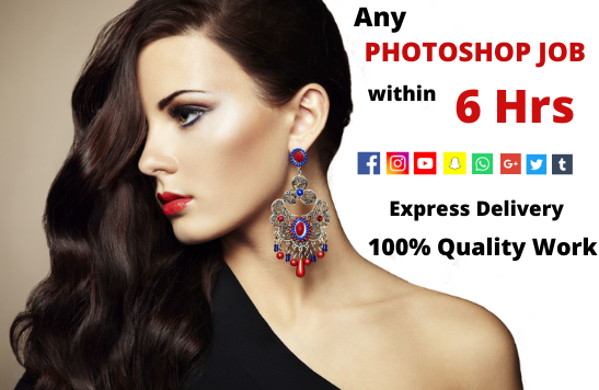 I Will do any photoshop editing you seek within 24Hrs