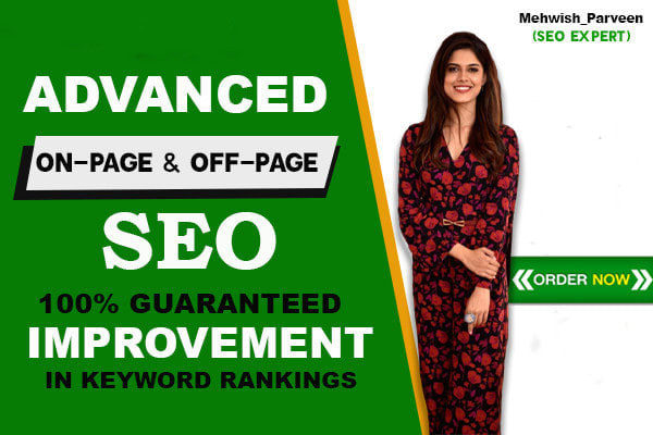 I will provide monthly SEO service with high quality backlinks for google top ranking