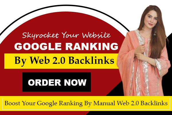 I will skyrocket your google ranking by authority web 2 0 manual backlinks