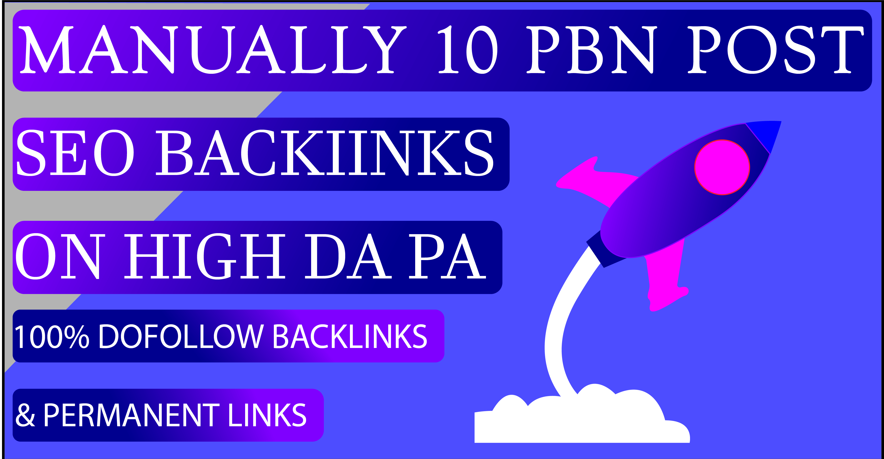 10 PBN Post ON Unique Domains Seo Backlinks With High DA PA