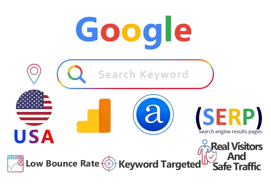 google keyword targeted usa alexa ranking traffic