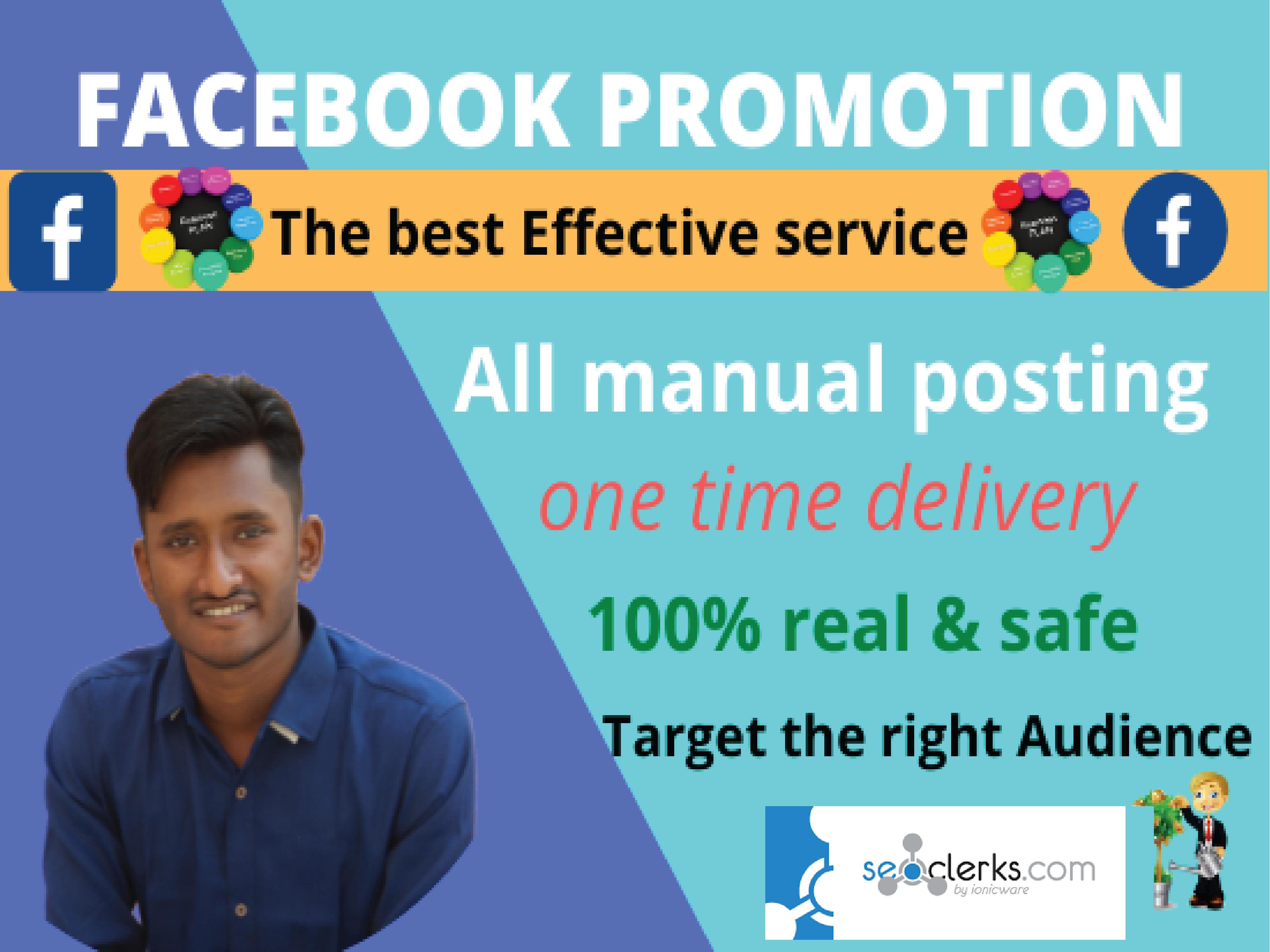 I will do Facebook promotion for USA any company Facebook Marketing