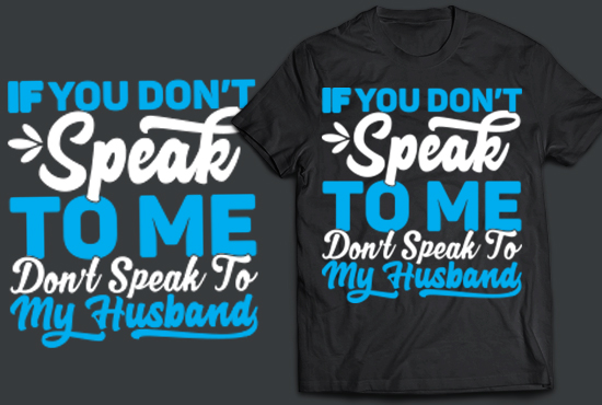 I will design a trendy typography t shirt for you