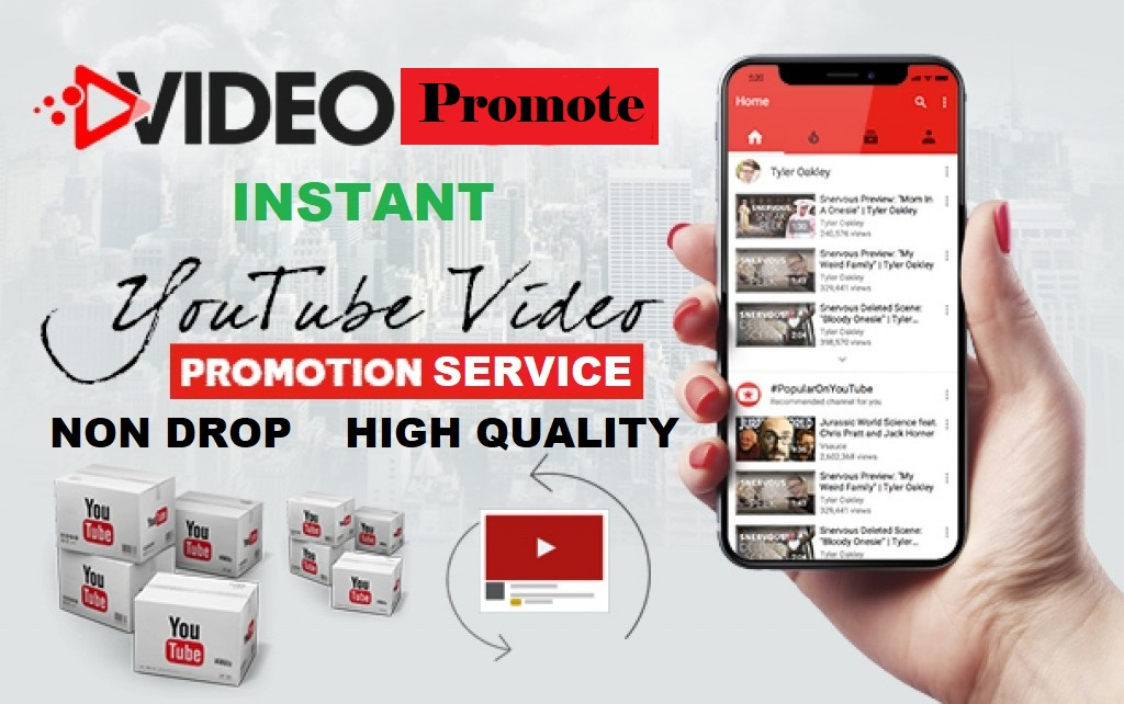 Real and organic youtube video promo by adcampaign